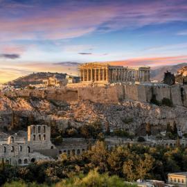 Афины: Акрополь, Парфенон, театр Диониса, Панатинаикос, башня Ветров