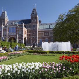 Амстердам: площадь Дам, Рейксмузеум, мельницы Киндердейка, кломпы