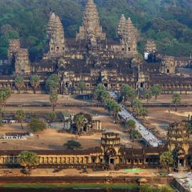 Ангкор: храмы Ангкор-Ват и Та-Кео, города Сиемреап и Ангкор-Тхом