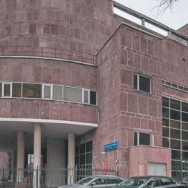Дом Центросоюза в Москве архитектора Ле Корбюзье