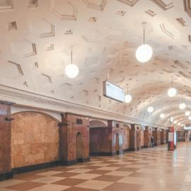 Станция метро «Красные Ворота»: архитектура и наземный вестибюль