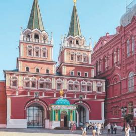 Воскресенские ворота Китай-города в Москве