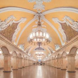 Станция метро «Комсомольская» Кольцевой линии: архитектура и история
