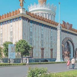 Павильон «Украина» на ВДНХ: история и архитектура