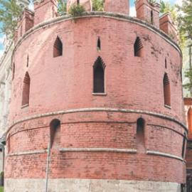 Птичья башня Китайгородской стены