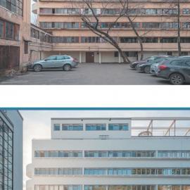 Дом Наркомфина в Москве на Новинском бульваре: архитектура Гинзбурга