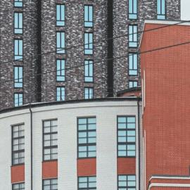 Хлебозавод № 5 в Москве на Ходынской - жилой комплекс «Пресня Сити»