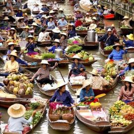 Бангкок: Храм Изумрудного Будды, рынки, парки, дворцы, океанариумы