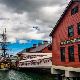 Бостон: музей «Бостонское чаепитие», дендрарий Арнольда, Капитолий, сад