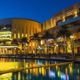 Дубай: торговые центры, Молл Эмиратов, Бурдж-Халифа, Парк цветов