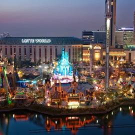 Эверленд и Лотте Уорлд (Южная Корея): аттракционы и развлечения
