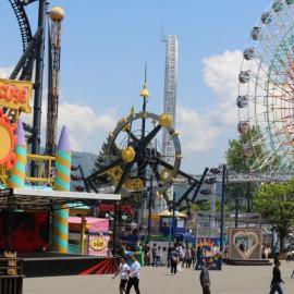 Парк Фудзи Кью Хайленд (Япония): аттракционы и развлечения