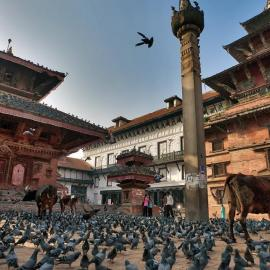 Катманду: храмы, ступа Боднатх, площадь Дурбар, парк Сагарматха