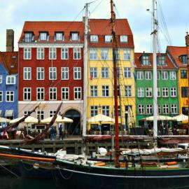 Копенгаген: Район Нюхавн, дворцы, замки, соборы, фонтан Гефион