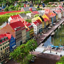 Парк Леголенд (Дания): аттракционы и развлечения. Мини-городок из лего