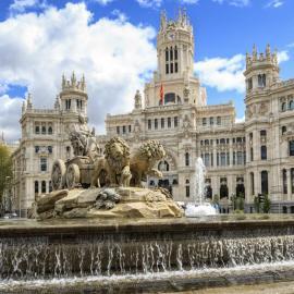 Мадрид: Королевский дворец, площадь Сибелес, арена быков, музей Прадо
