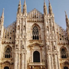 Милан: замок Сфорца, соборы и церкви, базилики, Ла Скала