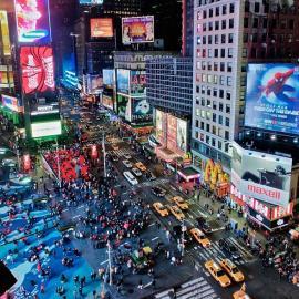 Нью-Йорк: Таймс-сквер, Бродвей, Бруклинский мост, Статуя Свободы