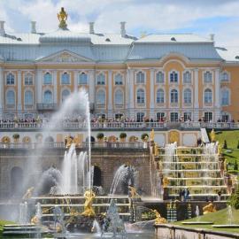 Петергоф: фонтаны, статуи, Нижний парк, Большой дворец