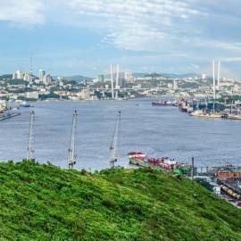 Приморский край: Бухта Золотой Рог, мост, Сихотэ-Алинь, Земля леопарда
