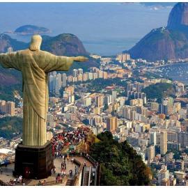 Рио-де-Жанейро: горы, статуя Христа, спорт-парк, стадионы, карнавал