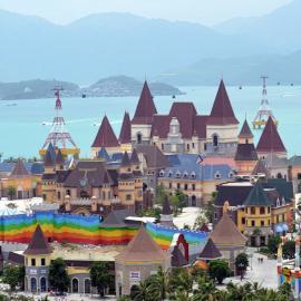 Винперлленд (Вьетнам): аттракционы и развлечения